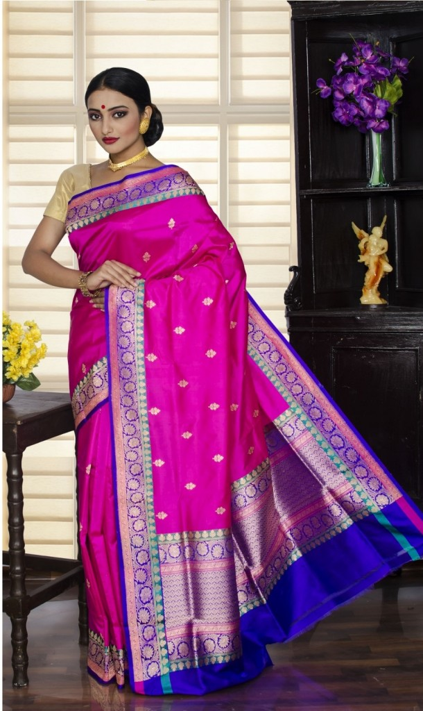 Sarees for thin and slim
