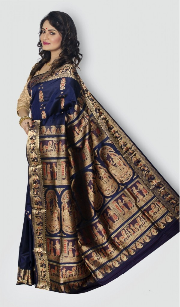 Sarees for tall ladies