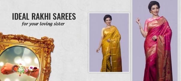Traditional Sarees for Rakhi