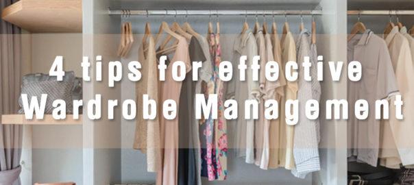 Tips for Wardrobe Management